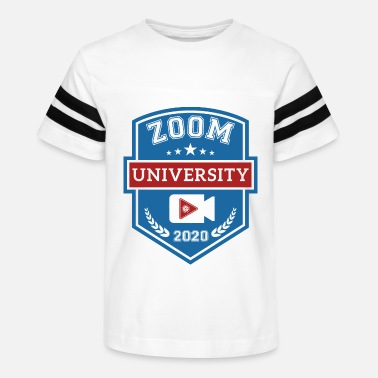 Zoom University - Kids' Vintage Sport T-Shirt