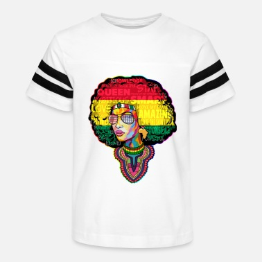 Afro AFRO WOMAN June - Kids' Vintage Sport T-Shirt