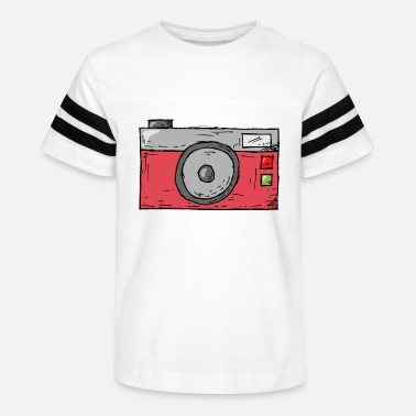 Selfie Vintage Retro Camera Illustration 12 - Kids' Vintage Sport T-Shirt