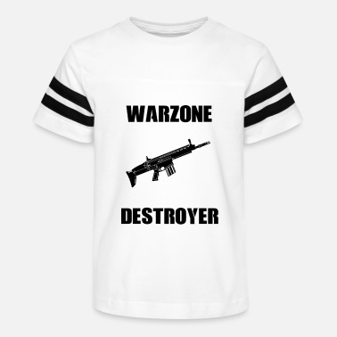 Warzone, Battle Royale, squad play, Game, shooter - Kids' Vintage Sport T-Shirt