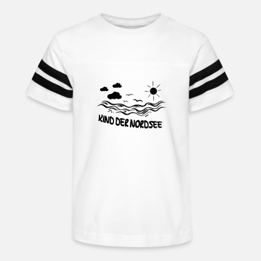 North Sea Child of the North Sea - Kids' Vintage Sport T-Shirt