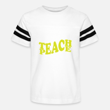 Yoga Teach peace gift - Kids' Vintage Sport T-Shirt