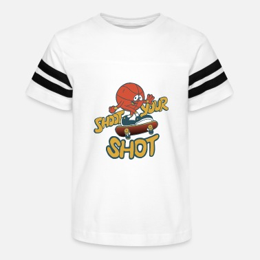 Shot shoot your shot - Kids' Vintage Sport T-Shirt