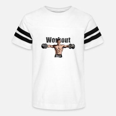 Workout workout - Kids' Vintage Sport T-Shirt