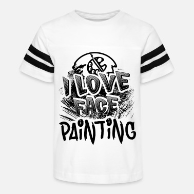 Painting I Love Face Painting Shirt - Kids' Vintage Sport T-Shirt