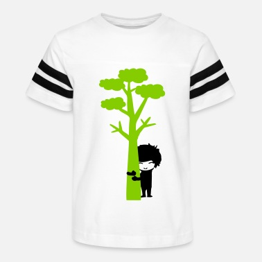 Trees tree hugger boy - Kids' Vintage Sport T-Shirt