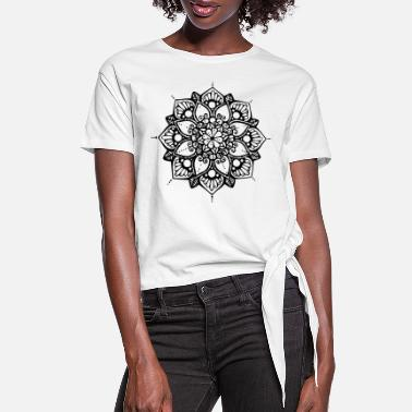 Funky Beautiful - Women's Knotted T-Shirt