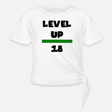 Level Up 18 - Women's Knotted T-Shirt