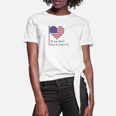 The British Empire Independence Day - Women's Knotted T-Shirt