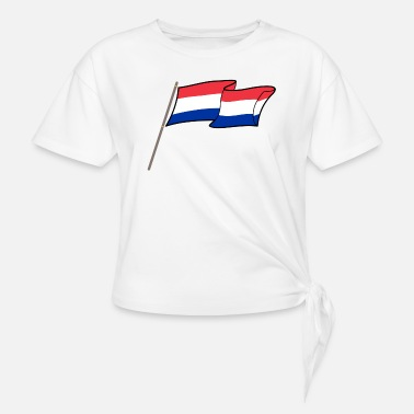 Netherlands netherlands - Women's Knotted T-Shirt