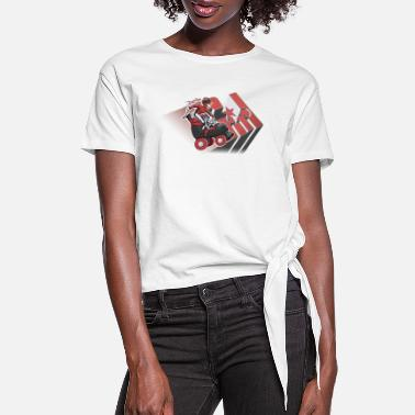 Derby Girl Derby Girl - Women's Knotted T-Shirt