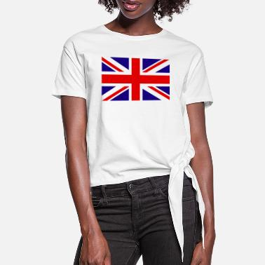 United Kingdom United Kingdom Flag - Women's Knotted T-Shirt