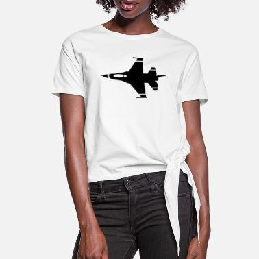 Airforce airforce - Women's Knotted T-Shirt