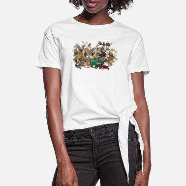 Group the group - Women's Knotted T-Shirt