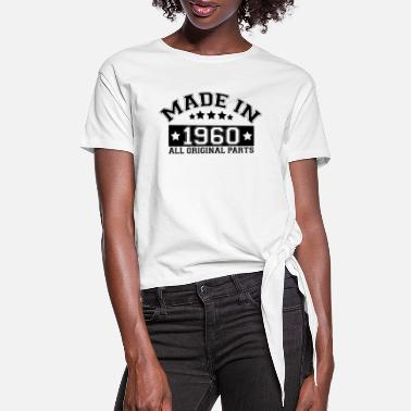 Original MADE IN 1960 ALL ORIGINAL PARTS - Women's Knotted T-Shirt