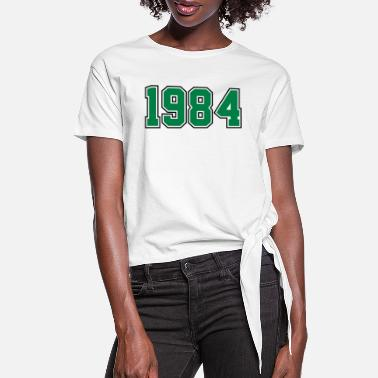 Year Of Birth 1984 | Year of Birth | Birth Year | Birthday - Women's Knotted T-Shirt