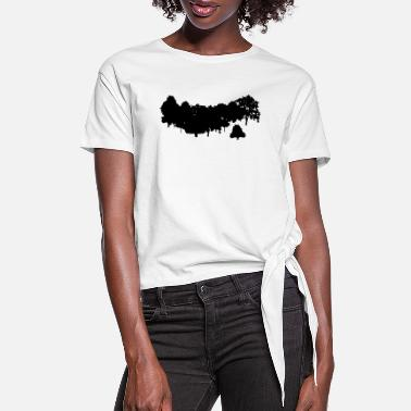 Forest Forest - Women's Knotted T-Shirt