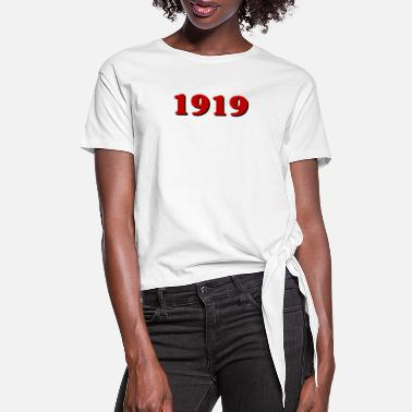 1919 1919 - Women's Knotted T-Shirt