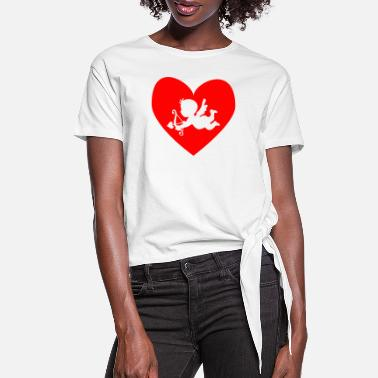 Cupid cupid - Women's Knotted T-Shirt