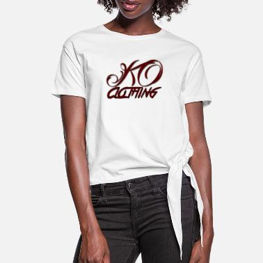 Ko KO Clothing - Women's Knotted T-Shirt