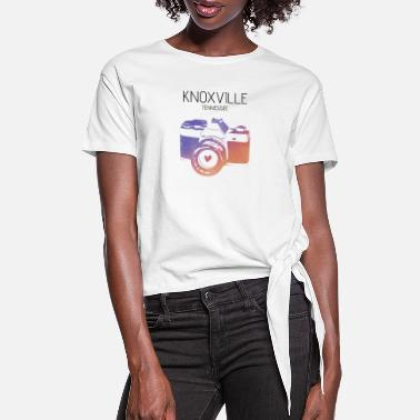 Knoxville Camera Knoxville - Women's Knotted T-Shirt
