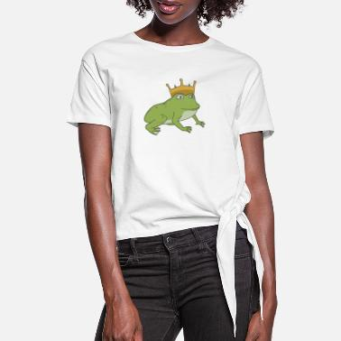 Frog Prince Frog Prince - Women's Knotted T-Shirt