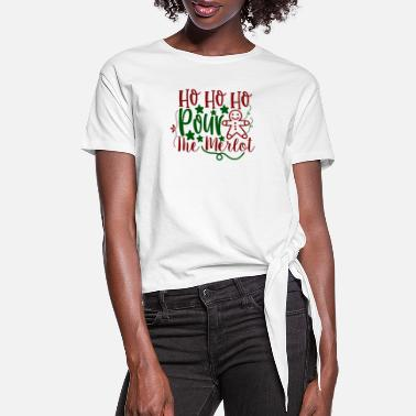 Christmas Carols Christmas, Gift - Women's Knotted T-Shirt