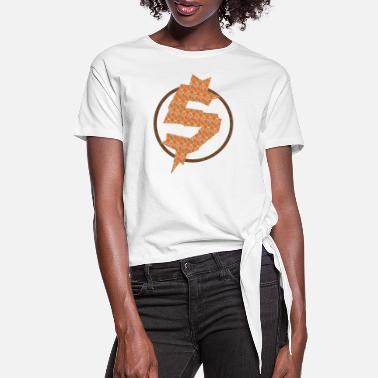 Cash Money Cash Money - Women's Knotted T-Shirt