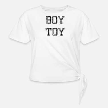 Toy BOY TOY - Women's Knotted T-Shirt