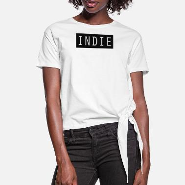 Indie indie - Women's Knotted T-Shirt