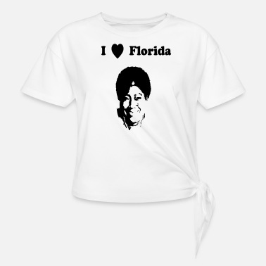 I heart Florida - Women's Knotted T-Shirt
