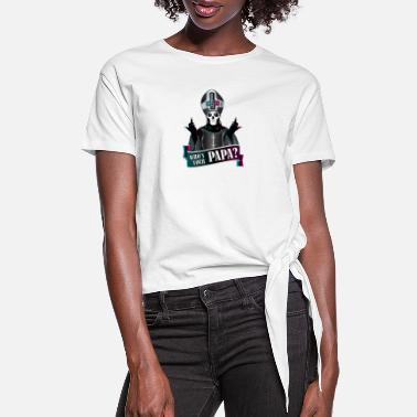 Ghost PAPA 3 - Women's Knotted T-Shirt