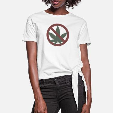 Cannabis cannabis - Women's Knotted T-Shirt