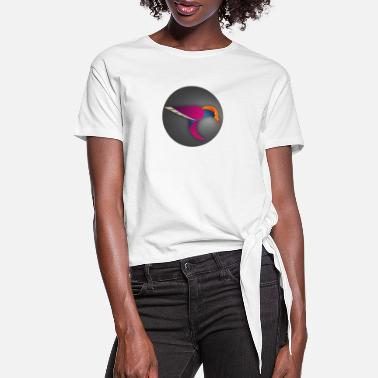 Niki - Women's Knotted T-Shirt