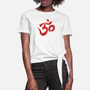Symbol Om Symbol - Women's Knotted T-Shirt