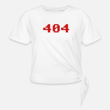 Four 404 - Women's Knotted T-Shirt