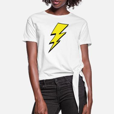 Lightning lightning - Women's Knotted T-Shirt