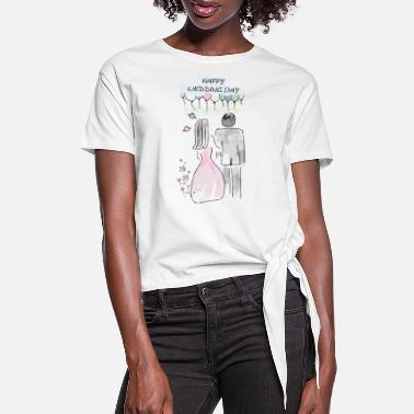 Wedding Day Wedding day - Women's Knotted T-Shirt