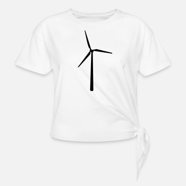 Sustained sustainable - Women's Knotted T-Shirt