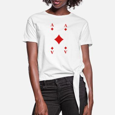 Cards Cards - Women's Knotted T-Shirt