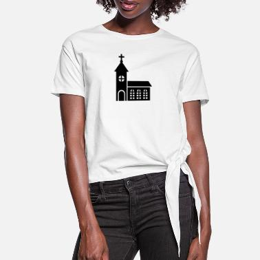 Church Church - Women's Knotted T-Shirt