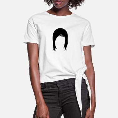 Hairstyle long hair hairstyle hairstyles - Women's Knotted T-Shirt