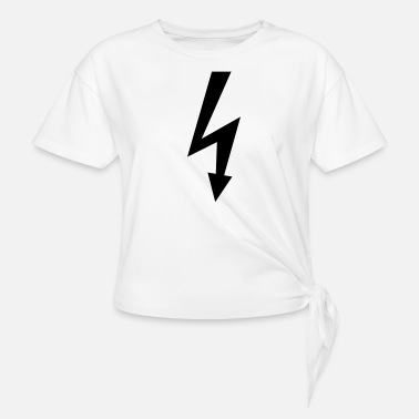 Electricity Electric - Women's Knotted T-Shirt