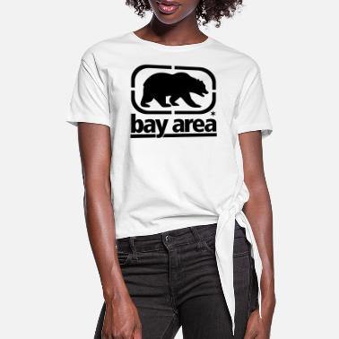 bay_area_front Bear - Women's Knotted T-Shirt