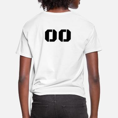Jersey Number Jersey Number 00 - Women's Knotted T-Shirt