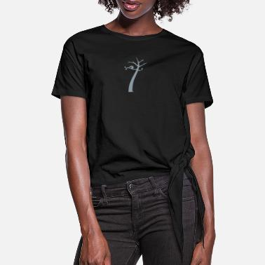 Plus Trees - Women's Knotted T-Shirt