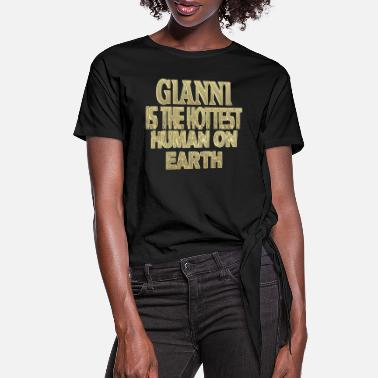 Gianni Gianni - Women's Knotted T-Shirt