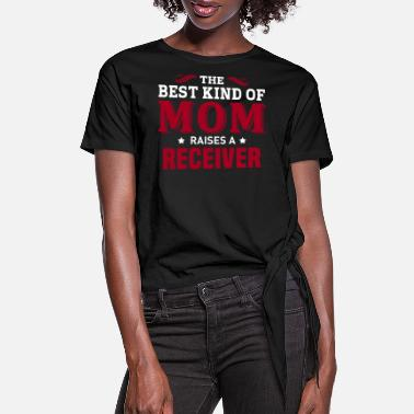 Receiver Receiver - Women's Knotted T-Shirt