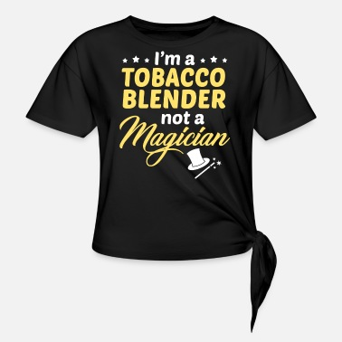 Tobacco Tobacco Blender - Women's Knotted T-Shirt