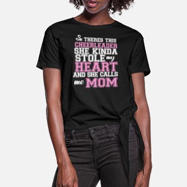 Cute cheer mom shirt  Deep v neck flowy Cheerleading shirt  Cheer t-shirt  Glitter cheer shirts  Cheerleading t-shirts women  pom pom